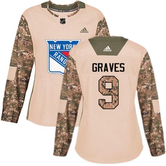 Adidas Adam Graves New York Rangers Women's Premier Away Jersey - White