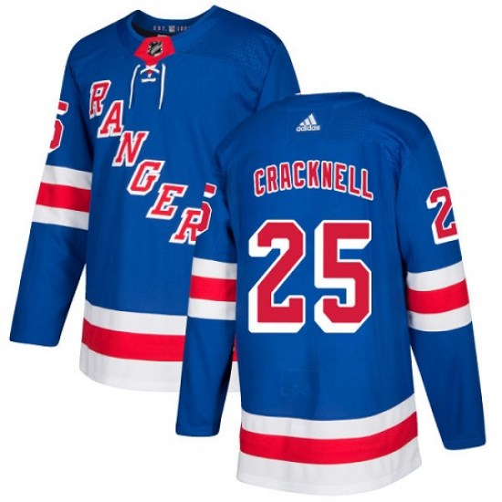 Adidas Dan Girardi New York Rangers Premier Home Jersey - Royal Blue