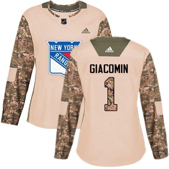 Adidas Eddie Giacomin New York Rangers Women's Premier Away Jersey - White