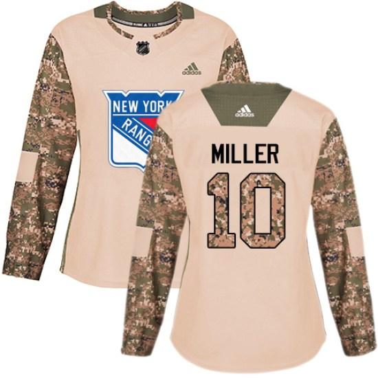 Adidas J.T. Miller New York Rangers Women's Premier Away Jersey - White