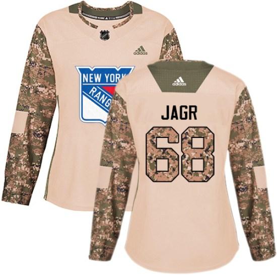 Adidas Jaromir Jagr New York Rangers Women's Premier Away Jersey - White