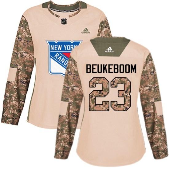 Adidas Jeff Beukeboom New York Rangers Women's Premier Away Jersey - White