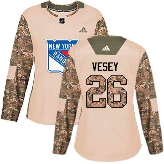 Adidas Jimmy Vesey New York Rangers Women's Premier Away Jersey - White