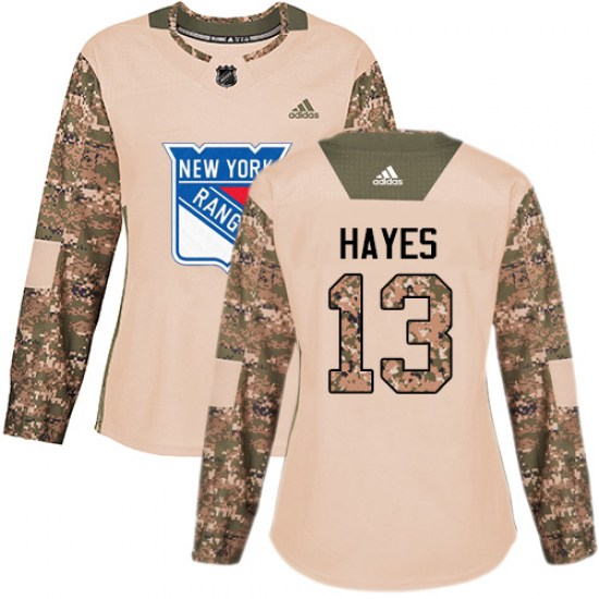 Adidas Kevin Hayes New York Rangers Women's Premier Away Jersey - White