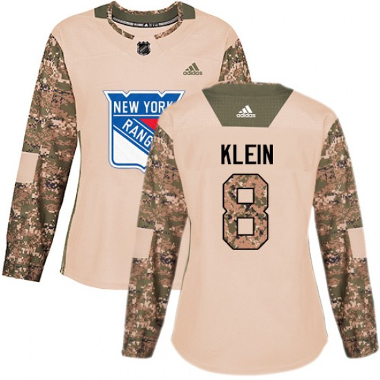 Adidas Kevin Klein New York Rangers Women's Premier Away Jersey - White
