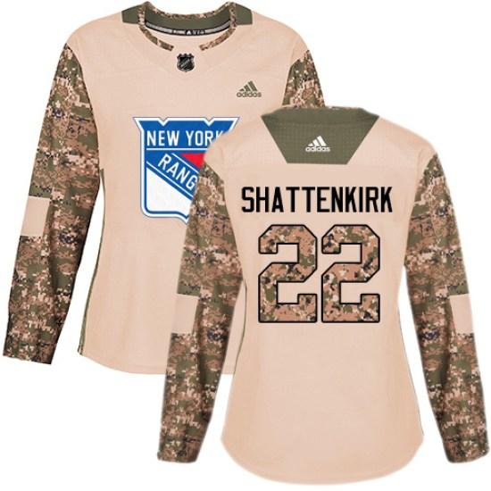 Adidas Kevin Shattenkirk New York Rangers Women's Premier Away Jersey - White