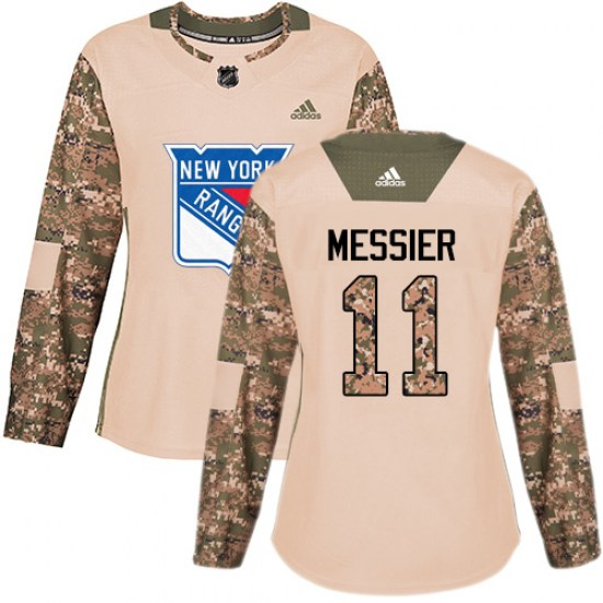 Adidas Mark Messier New York Rangers Women's Premier Away Jersey - White