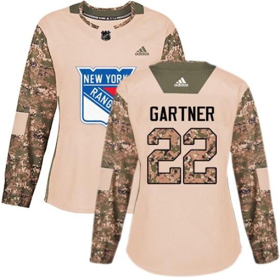 Adidas Mike Gartner New York Rangers Women's Premier Away Jersey - White