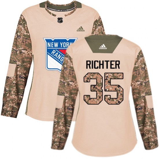 Adidas Mike Richter New York Rangers Women's Premier Away Jersey - White