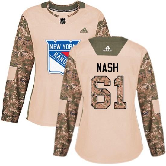 Adidas Rick Nash New York Rangers Women's Premier Away Jersey - White