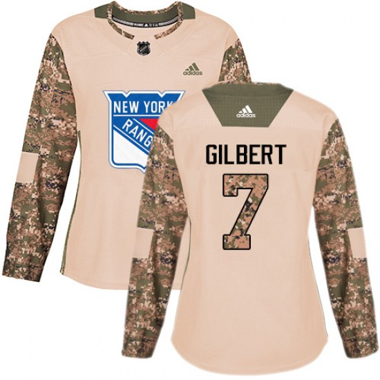 Adidas Rod Gilbert New York Rangers Women's Premier Away Jersey - White