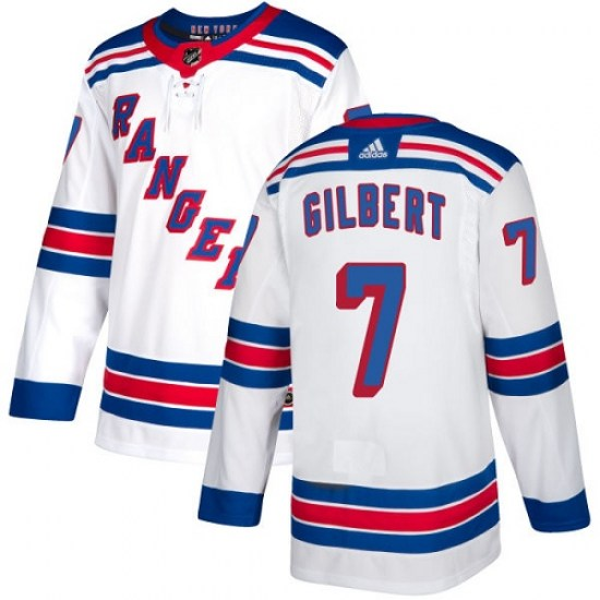 Adidas Rod Gilbert New York Rangers Youth Authentic Away Jersey - White