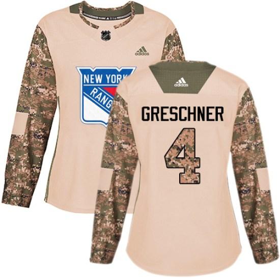 Adidas Ron Greschner New York Rangers Women's Premier Away Jersey - White