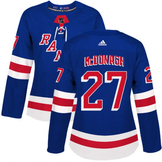 Adidas Ryan McDonagh New York Rangers Women's Authentic Home Jersey - Royal Blue