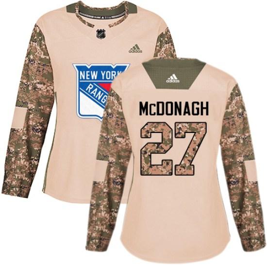 Adidas Ryan McDonagh New York Rangers Women's Premier Away Jersey - White