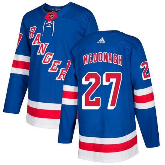 Adidas Ryan McDonagh New York Rangers Youth Authentic Home Jersey - Royal Blue