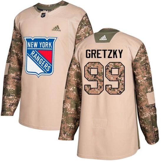 Adidas Wayne Gretzky New York Rangers Youth Premier Away Jersey - White