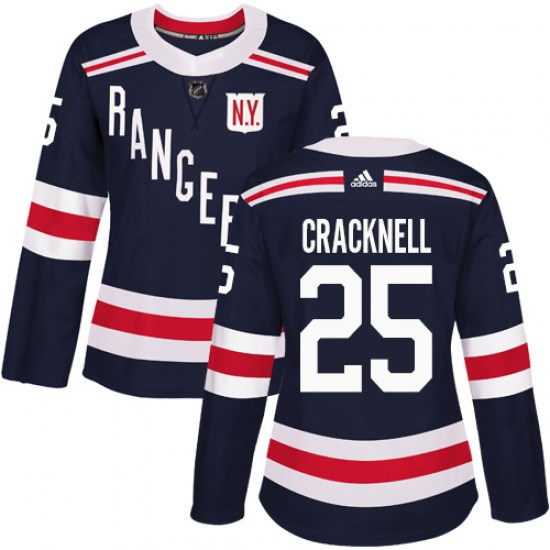 Adidas Adam Cracknell New York Rangers Women's Authentic 2018 Winter Classic Jersey - Navy Blue