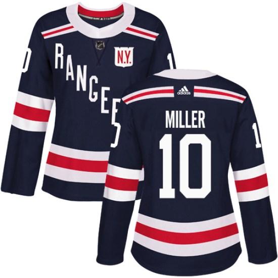 Adidas J.T. Miller New York Rangers Women's Authentic 2018 Winter Classic Jersey - Navy Blue