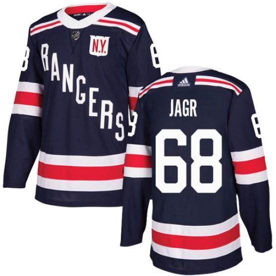 Adidas Jaromir Jagr New York Rangers Authentic 2018 Winter Classic Jersey - Navy Blue