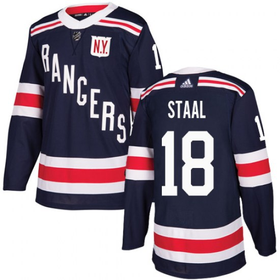Adidas Marc Staal New York Rangers Youth Authentic 2018 Winter Classic Jersey - Navy Blue