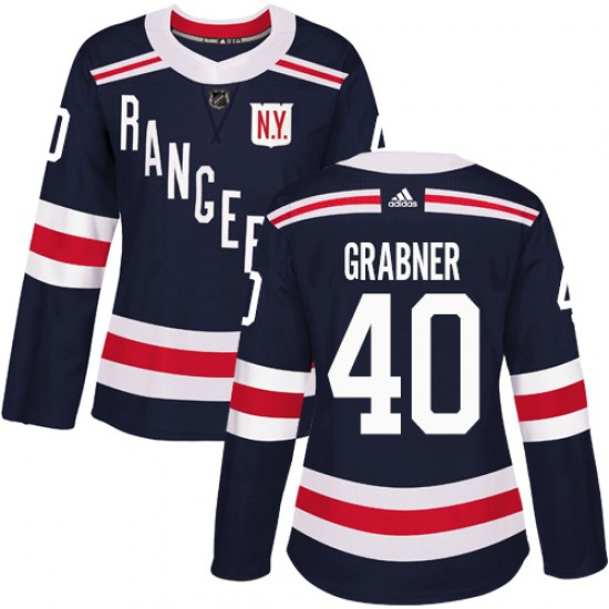 Adidas Michael Grabner New York Rangers Women's Authentic 2018 Winter Classic Jersey - Navy Blue