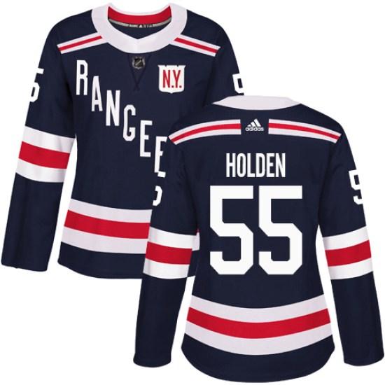 Adidas Nick Holden New York Rangers Women's Authentic 2018 Winter Classic Jersey - Navy Blue