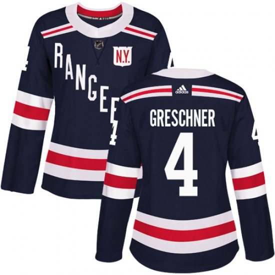 Adidas Ron Greschner New York Rangers Women's Authentic 2018 Winter Classic Jersey - Navy Blue
